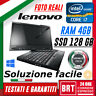"PC NOTEBOOK LENOVO X230 TABLET 12.5"" CPU I7 4GB RAM SSD 128GB TOUCH GRADO A+!!!"