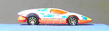 HOT WHEELS 1974 Silver Bullet 1:64 LOOSE USED MATTEL Malaysia produced 1985 - 87
