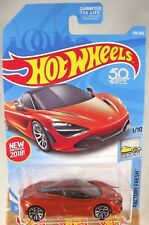 2018 Hot Wheels #178 Factory Fresh 1/10 McLAREN 720S Orange w/J5 sp 50th Anniver