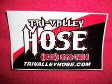Tri Valley Hose Sticker Decal