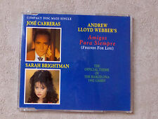 "JOSÉ CARRERAS & SARAH BRIGHTMAN ""AMIGOS PARA SIEMPRE (FRIENDS FOR LIFE)""CDM 1992"