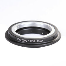 Leica M39 39MM Avvitare Obiettivo a Micro 4/3 M43 Adattatore F GF6 GX7 GF5 E-P5