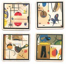 Série complète de 4 sous bock Art Edition 93 -  OCTAVIO BLASI Kronenbourg Alsace