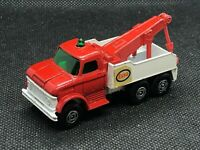 LESNEY MATCHBOX TRANSITIONAL SUPERFAST 71-A ESSO WRECK TOW TRUCK