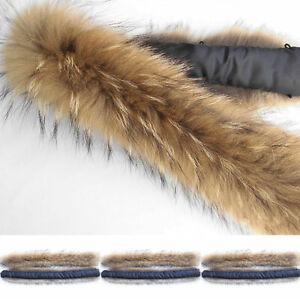 Winter Women Down Coat Raccoon Fur Collar Scarf For Coat Jacket Outerwear DIY