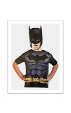 Batman Child Boys Superhero Tunic Paper Mask Pretend Play Set