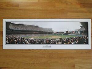 NEW YORK YANKEES vs BOSTON RED SOX Second Inning YANKEE STADIUM Panoramic Poster