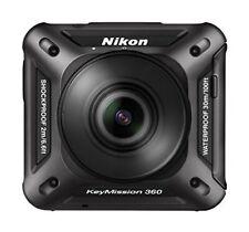 Nikon Waterproof Action Camera Keymission 360 Bk Black From Japan NEW