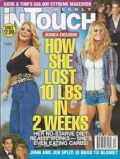 In Touch magazine Jessica Simpson Tom Cruise Katie Holmes Jennifer Aniston