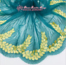 Floral Tulle Lace Trim Ribbon Embroidery Flower Wedding Fabric Sewing DIY FL292