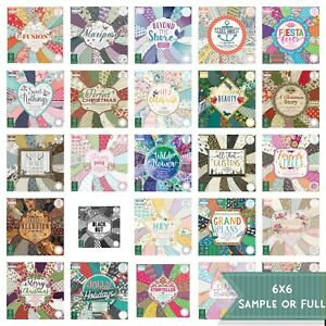 """First Edition 6x6"""" paper pad - various inc Christmas - sample or full FREE P&P"""