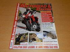 Motorrad & Reisen 12/2014, 40 Jahre Honda Gold Wing, Timmelsjoch, Lausitz.