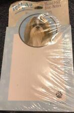 Pet Love Hallmark Memo Pad Bloc-Notes Shih Tzu