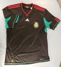 Adidas XL Climacool Futbol Soccer Mexico Black Red Green Short Sleeve Lightweigh