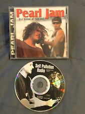 PEARL JAM DJ Eddie @The Mic Self Pollution Live Silver Pressed CD Import Vedder