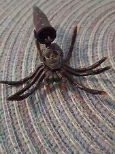 Small Spider Micro Tube Cache Container for Geocaching comes with a Log Book