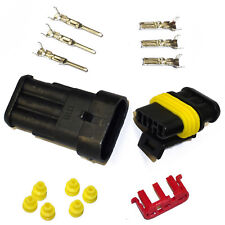Stekker auto - AMP Tyco Superseal 1.5 Kit 3-pin (SET) motor vervanging plug fcc