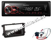 Autoradio Pioneer USB  + Kit montaggio per VW Vento / Scirocco / Caddy
