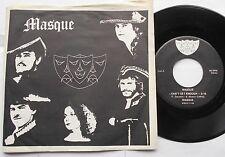 MASQUE I can't.. CANADA '70s CANADA PS OBSCURE GARAGE POP ROCK PRIVATE 45 HEAR!!