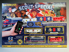 BACHMANN BSA SCOUT SPECIAL HO SCALE TRAIN SET E-Z APP control ez track 01503 NEW