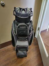 Ogio Spyke Golf Cart Bag 15 Dividers Black/Gray