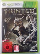 !!! XBOX 360 gioco Hunted usk18, usati ma ben!!!