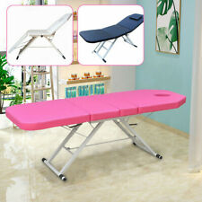Folding Massage Table Portable Couch Bed Tattoo Therapy Physic Spa Beauty Salon