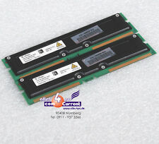 512 MB Kit 2x256mb Rdram Rimm 402836-872 hp W6000 W8000