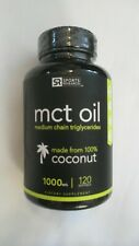 Sports Research MCT Oil Medium Chain Triglycerides 1000 mg 120 Softgels
