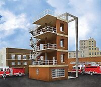 WALTHERS CORNERSTONE HO SCALE 1/87 FIRE DEPARTMENT DRILL TOWER | BN | 933-3766