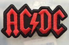 "High Quality ACDC Punk Rock Band Iron On Embroidered Patch (2.0""-3.75"")"