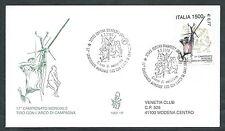 2000 ITALIA FDC VENETIA 1062 TIRO CON L'ARCO TIMBRO DI ARRIVO - ED