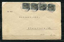 Dt. Reich Nr. 104 Mef Brief aus Eppstein   (BeI16)