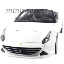BBURAGO 18-16007 FERRARI CALIFORNIA T OPEN TOP 1/18 DIECAST CAR WHITE