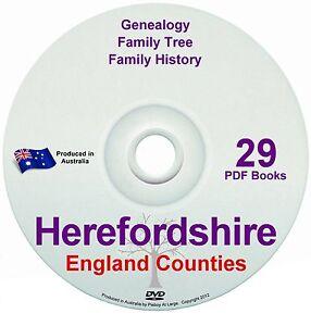 Family History Tree Genealogy Herefordshire