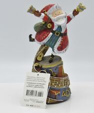 Hallmark 2008 RINGING IN THE SEASON Tabletop Musical SANTA Decoration QP1631 (JI