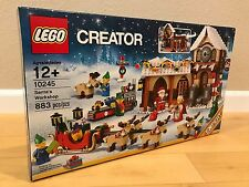 LEGO Santas Workshop - Creator 10245 - New and Sealed - Ships Fast!