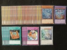 YU-GI-OH 42 carte Neo Blue-Eyes Ultimate Dragon DECK * PRONTO PER GIOCARE * USATO