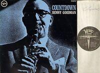 BENNY GOODMAN countdown VLP 9120 A1/B1 mono uk verve 1966 LP PS VG/EX