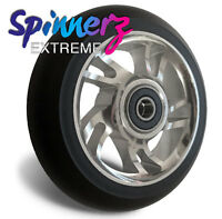 """Wheelchair Castors (pair of)   100mm   4"""" inch x 1""""   Castor Wheels   Extreme"""