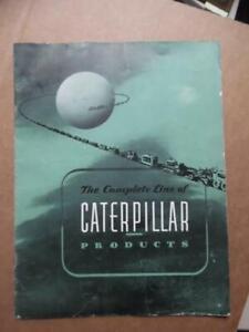 1941 Caterpillar Products Complete Line Catalog D8 D7 D6 D4 D2 Tractors Vintage