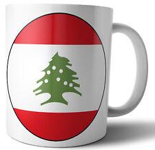 LIBAN Libanais-Pavillon de thé-café-Mug-Cup - Anniversaire-Noël-Cadeau
