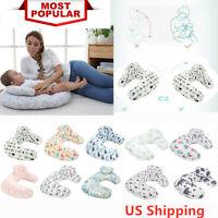 Baby U-Shape Maternity Breastfeeding Nursing Support Pillow Detachable US