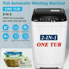 21lbs Nictemaw Washing Machine Portable Mini Twin Tub Compact Washer Spin Dryer~