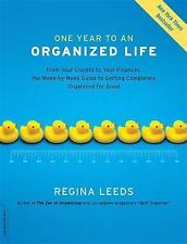 One Year to an Organized Life: From Your Closets to Your Finances, the