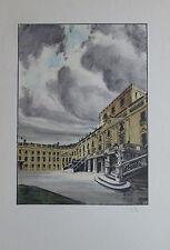 Igo Pötsch Das Wunderschloss Esterhaz Originaldruck aus 1932 Kunstblatt print