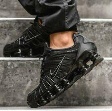New NIKE Shox TL Casual Shoes Athletic Sneakers Mens triple black orange all siz
