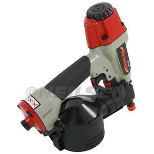 CN45 Conical Dome Flooring Air Coil Nailer Gun Adjustable Depth  25mm  50mm 4337