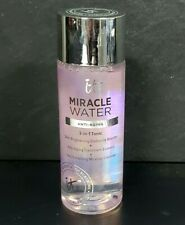 IT Cosmetics MIRACLE WATER Anti-Aging  3-in-1 Tonic 1.7 oz NWOB SEALED