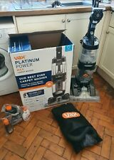Vax platinum power max carpet cleaner,boxed with solution
